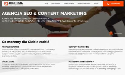 Argonium - Najlepszy Content Marketing
